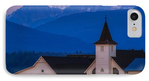 Sunset At The Chapel IPhone Case