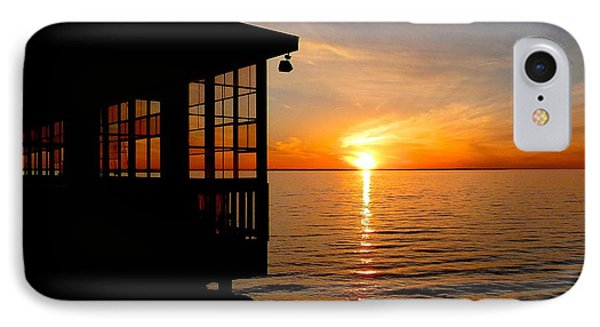 Sunset At The Crab Shack IPhone Case