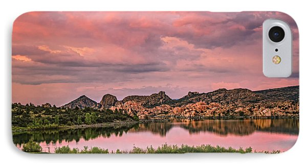 Sunset At The Dells IPhone Case by Medicine Tree Studios