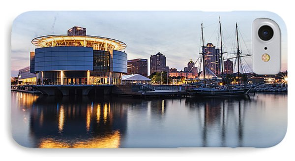Sunset At The Dock IPhone Case by CJ Schmit