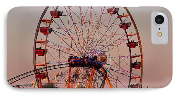Sunset At The Fair Phone Case by David Lee Thompson