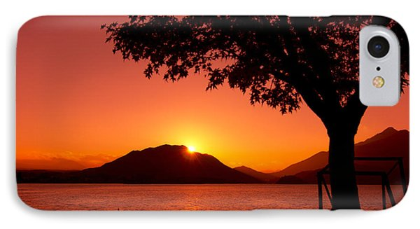 Sunset At The Lake IPhone Case