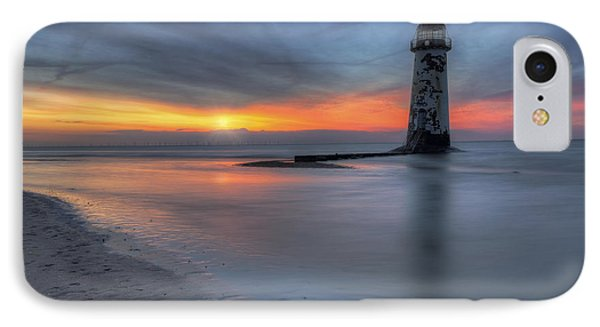 Sunset At The Lighthouse V3 IPhone Case