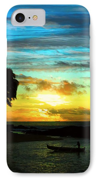 IPhone Case featuring the photograph Sunset At The Luau by Kara  Stewart