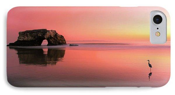 Sunset At The Natural Bridge-2 IPhone Case