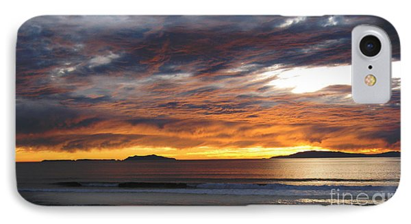 IPhone Case featuring the photograph Sunset At The Shores by Janice Westerberg
