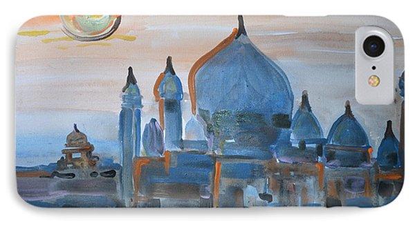 Sunset At The Taj IPhone Case by Vikram Singh