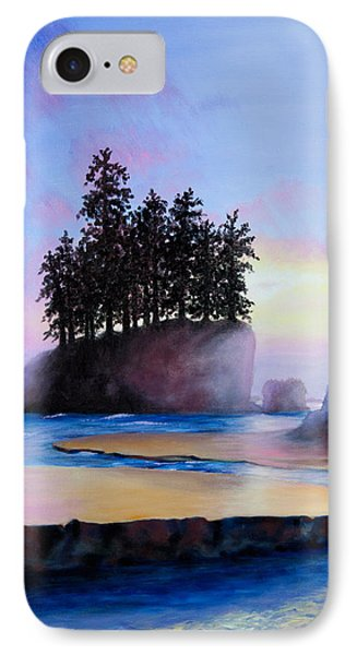 Sunset At Tongue Point Phone Case by Shelley Irish