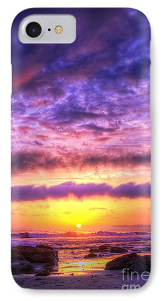 Sunset At Treasure Cove Phone Case by Eddie Yerkish