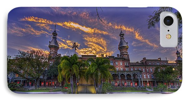 Sunset At U.t. Phone Case by Marvin Spates