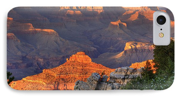 IPhone Case featuring the photograph Sunset At Yaki Point by Alan Vance Ley