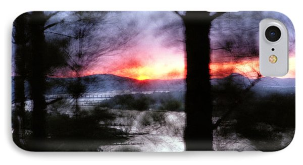 Sunset Atop Windy Emerald Park IPhone Case by Jason Politte