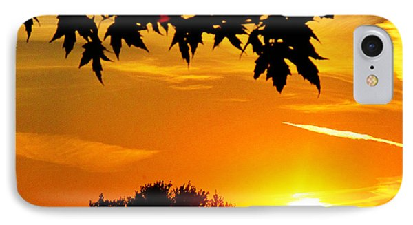 sunset AUSTIN Phone Case by Tina M Wenger