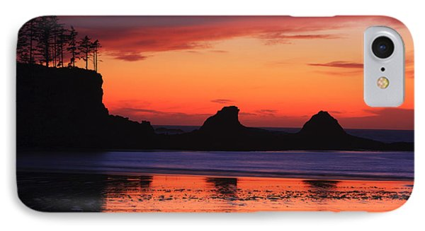 Sunset Bay Sunset 2 IPhone Case by Mark Kiver
