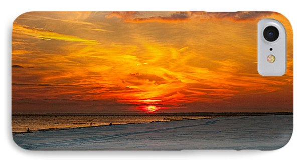 IPhone Case featuring the photograph Sunset Beach New York by Chris Lord