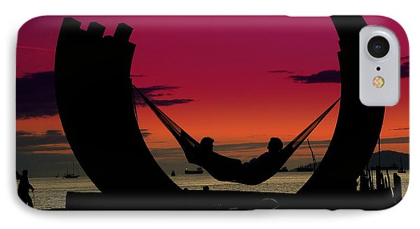 Sunset Beach Relaxation IPhone Case by Brian Chase
