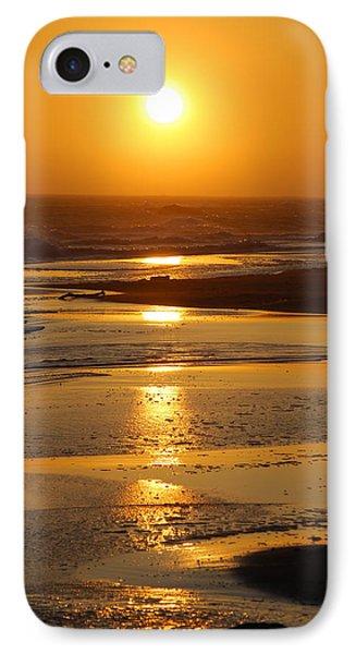 Sunset Beach IPhone Case by Richard Hinger