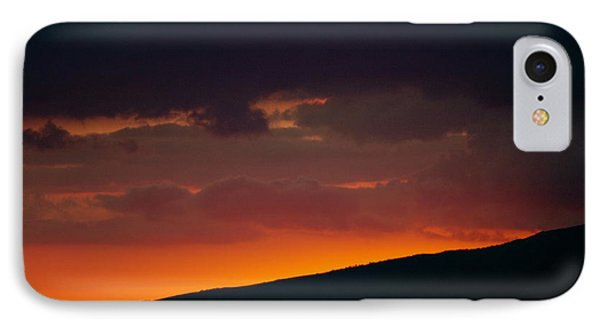 IPhone Case featuring the photograph Sunset Beyond The Waianae Mountain Range by Lehua Pekelo-Stearns