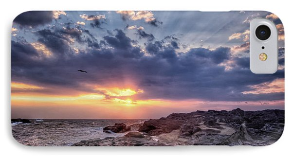 IPhone Case featuring the photograph Sunset Bird by John Swartz