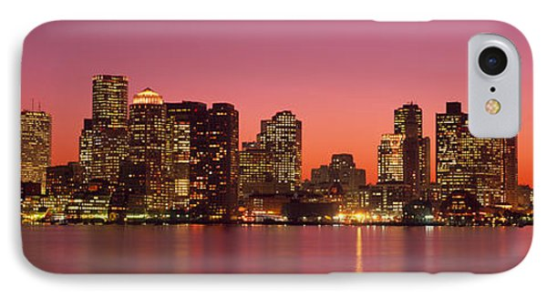 Sunset Boston Ma IPhone Case by Panoramic Images