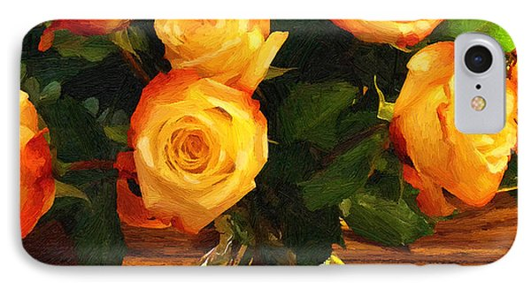 Sunset Bouquet IPhone Case by Doug Kreuger