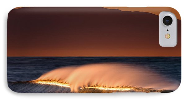 IPhone Case featuring the photograph Sunset Breaking73a0456 by David Orias