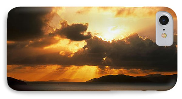 Sunset British Virgin Islands IPhone Case by Panoramic Images