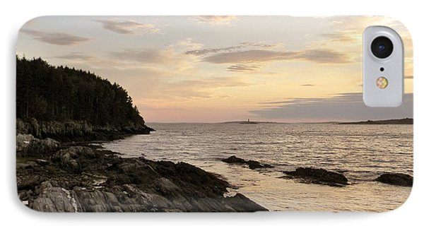 Sunset By The Sea IPhone Case by Jean Goodwin Brooks