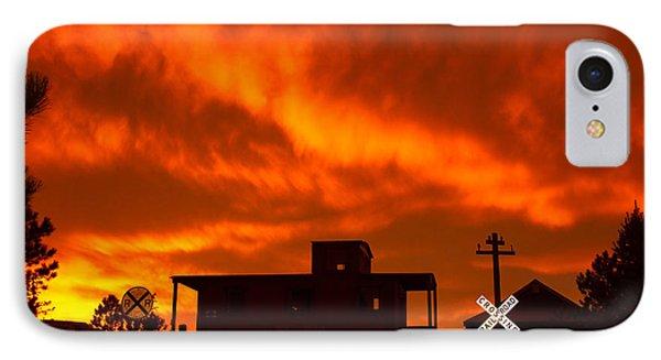 Sunset Caboose IPhone Case
