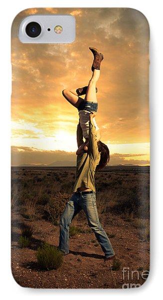Sunset Candlestick IPhone Case by Scott Sawyer