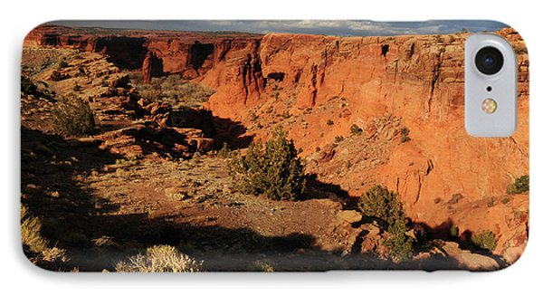 Sunset, Canyon De Chelly, Arizona, Usa IPhone Case by Michel Hersen