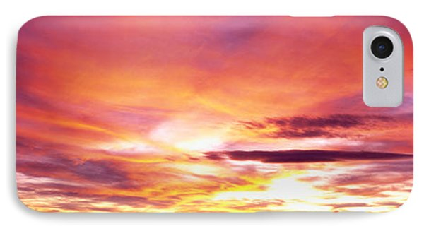 Sunset, Canyon De Chelly, Arizona, Usa IPhone Case by Panoramic Images