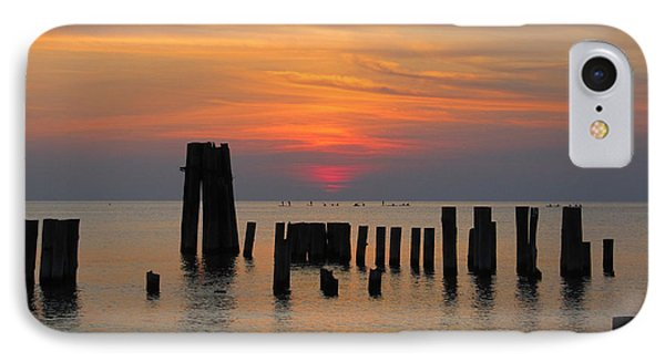 IPhone Case featuring the photograph Sunset Cape Charles by Richard Reeve