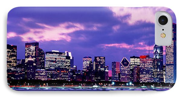 Sunset Chicago Il Usa IPhone Case by Panoramic Images