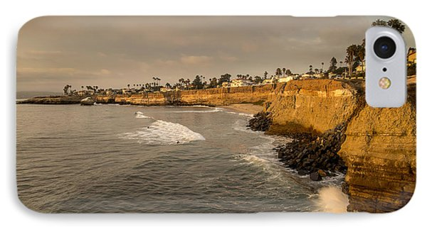Sunset Cliffs 4 IPhone Case by Lee Kirchhevel
