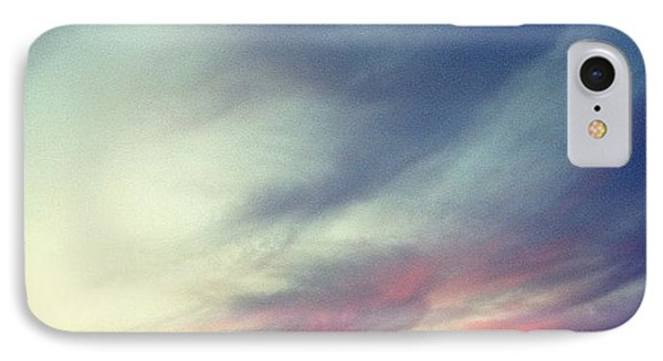 Sunset Clouds IPhone Case by Christy Beckwith