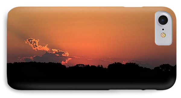 Sunset Clouds Phone Case by Mark Russell