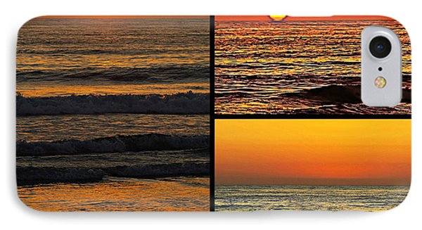 Sunset Collage IPhone Case by Sharon Soberon