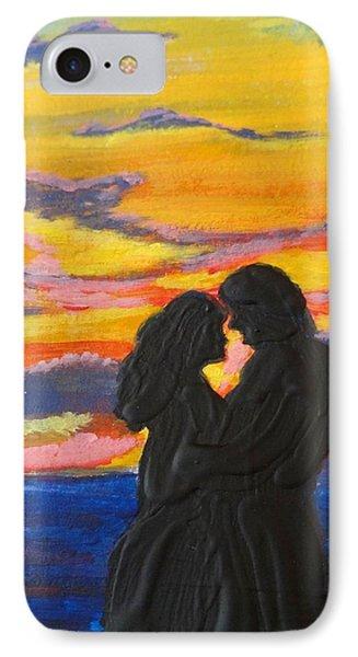 Sunset Couple IPhone Case
