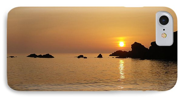 Sunset Crooklets Beach Bude Cornwall IPhone Case