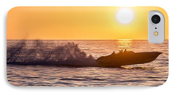 Sunset Cruise IPhone Case by Jon Neidert