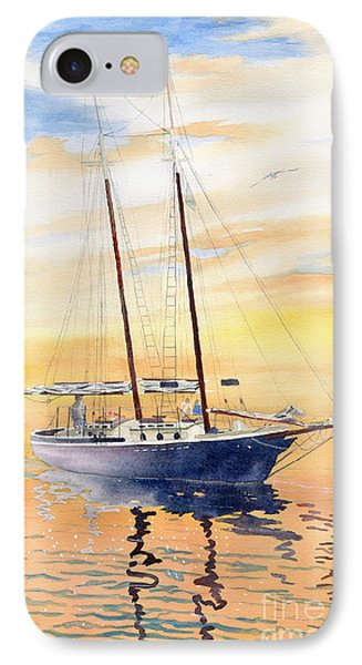 Sunset Cruise IPhone Case by Melly Terpening