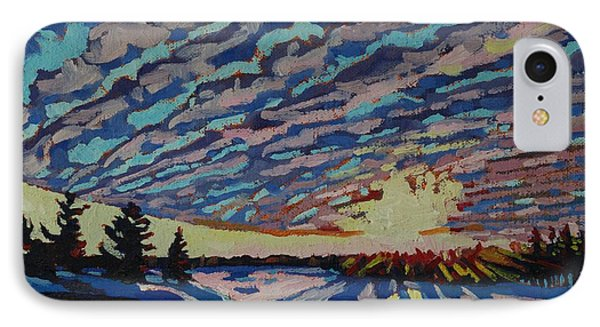 Sunset Deformation IPhone Case by Phil Chadwick