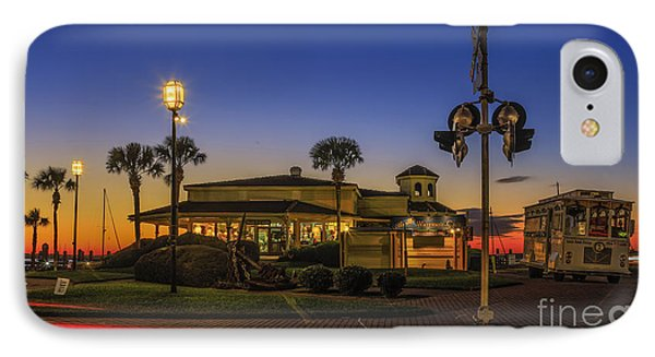 IPhone Case featuring the photograph Sunset Diner by Paula Porterfield-Izzo