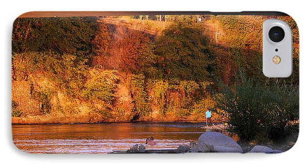 IPhone Case featuring the photograph Sunset Dip by Melanie Lankford Photography