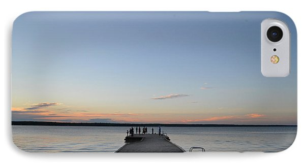 IPhone Case featuring the photograph Sunset Dock 2  by Lyle Crump