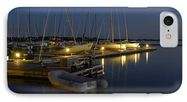 Sunset Dock IPhone Case