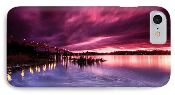 Sunset Drift IPhone Case by Jennifer Casey