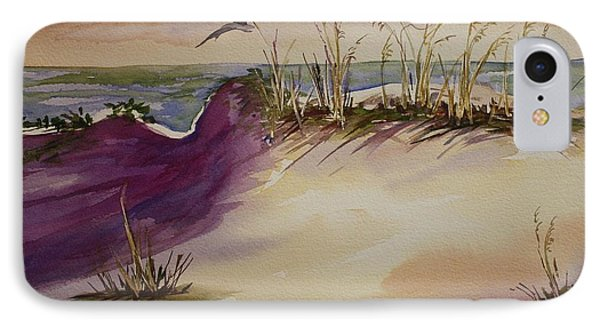 IPhone Case featuring the painting Sunset Dunes by Roxanne Tobaison