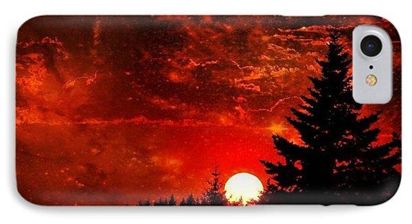 Sunset Fantasy I IPhone Case